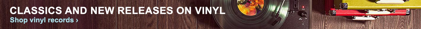 Classics and new releases on vinyl. Shop vinyl records.
