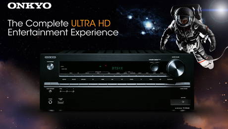 Home theater receiver, Onkyo, The Next Generation Is Here, HDMI 2.0 to 4K/60Hz