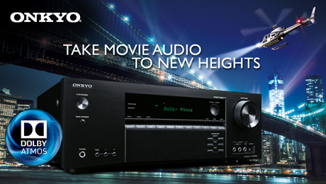 Home theater receiver, Onkyo, Dolby Atmos