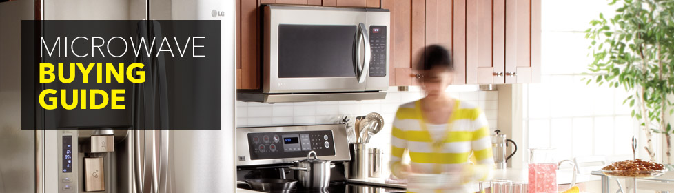 Learn about convenient features, how to pick the right size and more in our Microwave Buying Guide online at Best Buy.