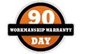 90 day workmanship warranty