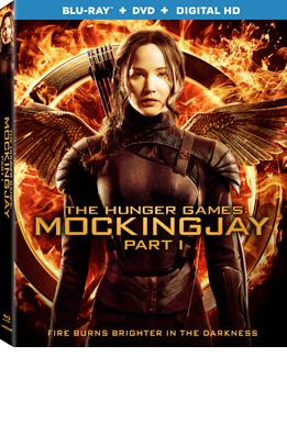 Mockingjay Pt1 Blu-ray
