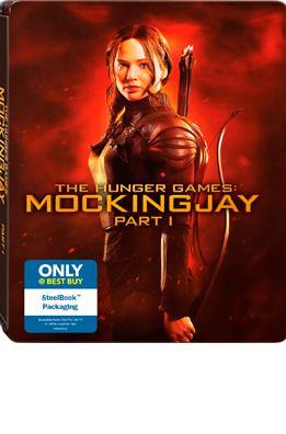 Mockingjay Pt1 Blu-ray SteelBook