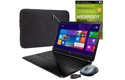 Laptop, software, accessories