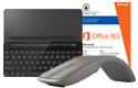 Wireless mouse, mobile keyboard, Microsoft Office