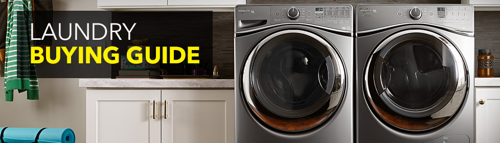 Learn about the different options available for top-load washers, high-efficiency top-load washers, high-efficiency front-load washers, dryers and more in our Laundry Buying Guide online at Best Buy.