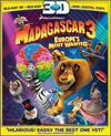 Madagascar 3: Europe's Most Wanted (Blu-ray 3D) (Eng/Fre/Spa)