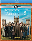 Masterpiece: Downton Abbey Season 5 (Blu-ray Disc)