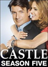 Castle: The Complete Fifth Season [5 Discs] (DVD)