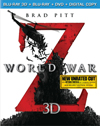 World War Z (Blu-ray 3D) (Unrated) (Eng/Fre/Spa/Por) 2013