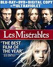 Les Miserables(Blu-ray/DVD) (Digital Copy) (UV Digital Copy) (with $5 Fandango Cash)