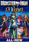 Monster High: 13 Wishes (DVD) (Eng/Spa/Fre) 2013