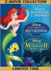 Little Mermaid II: Return to the Sea/Little Mermaid: Ariel's Beginning [2 Discs] (DVD) (Eng/Spa/Fre)