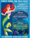 Little Mermaid II: Return to the Sea/Little Mermaid: Ariel's Beginning [3 Discs] [Blu-ray/DVD] (Blu-ray Disc)