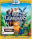 Rise of the Guardians (3D Blu-ray)(Blu-ray/DVD)(Digital Copy)(with Penguins of Madagascar Movie Money)