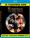 BD-KINGSMAN: THE SECRET SERVICE (BD+UV) (Blu-ray Disc)