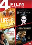 Life of Pi/Black Swan/The Descendants/Crazy Heart (DVD)