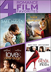 Safe Haven/Water for Elephants/Love and Other Drugs/The Devil Wears Prada (DVD)