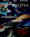 Twister/Poseidon/Perfect Storm (Blu-ray Disc) (3 Disc) (Enhanced Widescreen for 16x9 TV) (Eng/Fre/Spa)