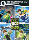 4 Kid Favorites: The Ben 10 Alien Force Collection [4 Discs] (DVD) (Eng)