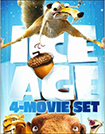 Ice Age 4-Movie Set (Blu-ray Disc) (4 Disc) (Boxed Set)