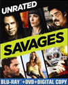 Savages (Blu-ray Disc) (2 Disc) (Unrated) (Ultraviolet Digital Copy) (Eng/Fre/Spa) 2012