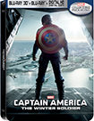 Captain America: The Winter Soldier - Steelbook (3D+Blu-ray+Digital HD Copy) Only @ Best Buy (Blu-ray Disc) (Only @ Best Buy)