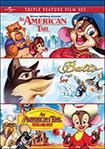 An American Tail/Balto/An American Tail: Fievel Goes West -Triple Feature (DVD)