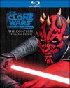 Star Wars: The Clone Wars - Season Four [3 Discs] [Blu-ray] (Blu-ray Disc) (Enhanced Widescreen for 16x9 TV) (Eng/Fre/Spa)