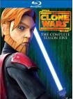 Star Wars: The Clone Wars - Season 5 [3 Discs] (Blu-ray Disc)