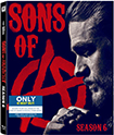 Sons of Anarchy: Season 6 (Blu-ray) Only @ Best Buy w/6 Digital Comic Books (Blu-ray Disc) (Only @ Best Buy)
