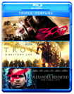 Alexander Revisited/Troy/300 (Blu-ray Disc) (3 Disc) (Eng/Fre/Spa)