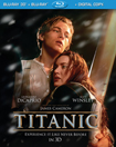 Titanic (4-Disc)(Blu-ray 3D/Blu-ray Combo Pack)(with e-copy) (Eng/Fre/Spa) 1997