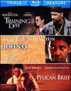 Training Day/John Q./The Pelican Brief [3 Discs] [Blu-ray] (Blu-ray Disc) (Enhanced Widescreen for 16x9 TV) (Eng/Fre/Spa)