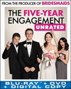 The Five-Year Engagement (Blu-ray Disc) (2 Disc) (Ultraviolet Digital Copy) 2012