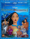 Pocahontas/Pocahontas II: Journey to a New World [2 Discs] [DVD/Blu-ray] (Blu-ray Disc)
