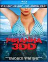Piranha 3DD (Blu-ray Disc) (3 Disc) (3-D) 2012