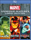 Marvel Animated Features: 3-Movie Collection [3 Discs] [Blu-ray] (Blu-ray Disc)