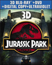 Jurassic Park (Blu-ray 3D) (3 Disc) (3-D) (Ultraviolet Digital Copy) 1993