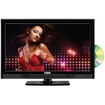 Naxa - NTD-1552 15.6 Inch Widescreen HD LED TV DVD Player Combo With Digital Tuner - Glossy Black