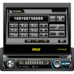 Pyle - Car Audio/Video Plts78Dub 7 Single Din Detach Touch Screen