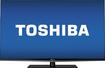 "Toshiba - 55"" Class (54-5/8"" Diag.) - LED - 1080p - 120Hz - Smart - 3D - HDTV - Black, Silver"