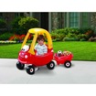 Little Tikes - Cozy Coupe with Trailer