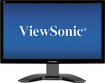 "ViewSonic - 19"" Widescreen LED Monitor - Glossy Black"