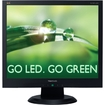 "Viewsonic - 17"" LED Display Eco-Friendly and Performance Enhancing - Black"