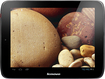 Lenovo - IdeaPad Tablet - 16GB - Black/Gun Metal Gray