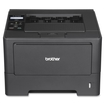 Brother - Network-Ready Wireless Black-and-White Printer - Black