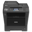 Brother - MFC-8510DN Wireless Black-and-White All-In-One Printer - Black