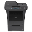 Brother - MFC-8950DWT Wireless Black-and-White All-In-One Printer - Black