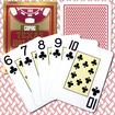 Trademark - Copag Poker Size Texas Holdem Design Jumbo Index - Deep Red